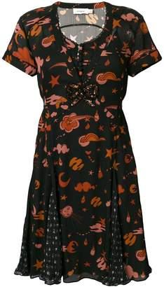 Coach star galaxy print dress
