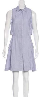 Shades of Grey Sleeveless A-line Dress