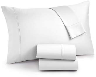Aq Textiles Surrey 4-Pc. Queen Sheet Set, 650 Thread Count 100% Cotton Bedding