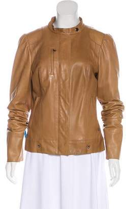CNC Costume National Leather Jacket