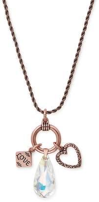 Alex and Ani Love Trio Charm Necklace