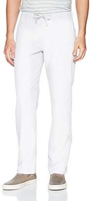 Perry Ellis Men's Linen Cotton Drawstring Pant