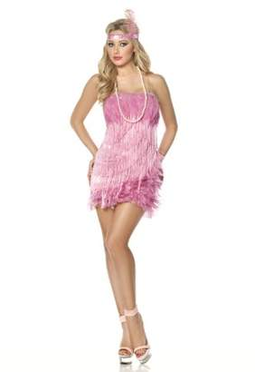 Mystery House Flamingo Flapper Costume