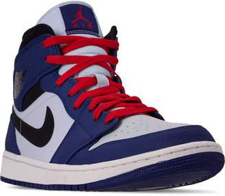 timeless design 25e78 0d8d6 Nike Men s Air Jordan Retro 1 Mid Premium Basketball Shoes