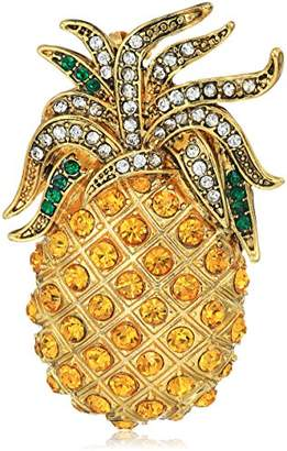 Carolee Pineapple Brooch and Pin