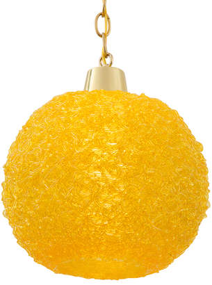 Rejuvenation Mid-Century Swag Pendant w/ Textured Candy-Colored Shade
