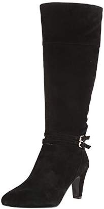 Bandolino Women's Wiser Suede Riding Boot