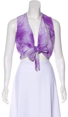 Lafayette 148 Sleeveless Silk Blouse