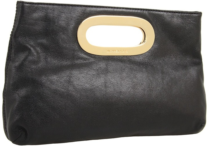 MICHAEL Michael Kors Berkley Clutch (Black) - Bags and Luggage