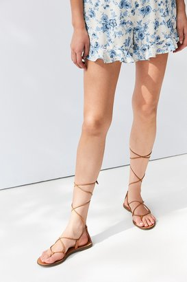 Urban Outfitters Leather Gladiator Sandal $39 thestylecure.com
