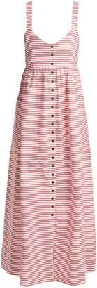 Mara Hoffman Orla striped cotton dress