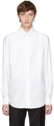 Brioni White Slim-Fit Dress Shirt