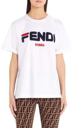 Fendi Sport Logo Tee