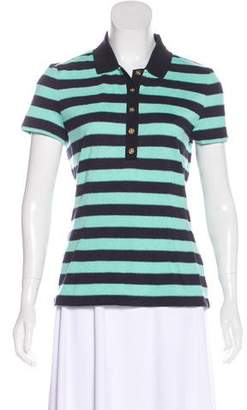Tory Burch Logo-Embellished Polo Shirt
