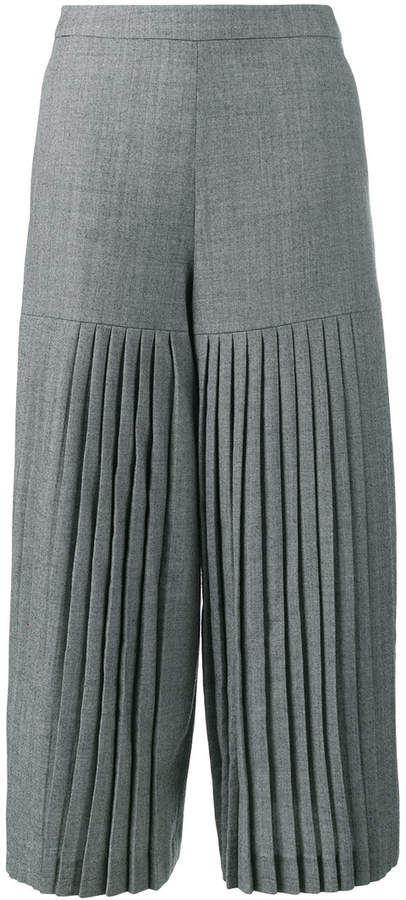 Osman madie pleated culottes