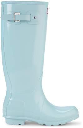 Hunter Waterproof Round-Toe Rain Boots