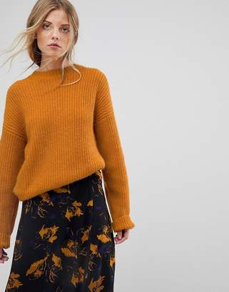 Gestuz Slouchy Pullover Knit Sweater