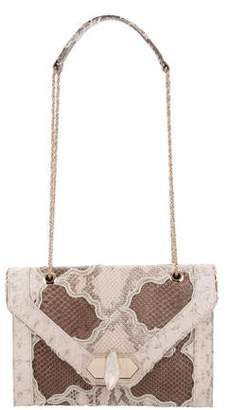 Marchesa Python Daphne Shoulder Bag