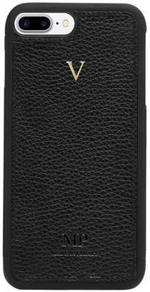 Grainy Black iPhone 7 Rounded Case