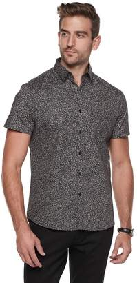Marc Anthony Men's Slim-Fit Slubbed Textured Casual Button-Down Shirt