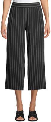 Max Studio Striped Culotte Pants