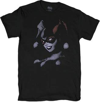Fifth Sun Men's DC Comics Harley Quinn Through The Blinds T-Shirt