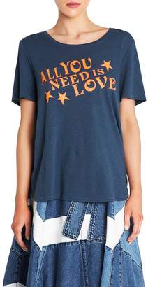 Sass & Bide All You Need Is Love Tee