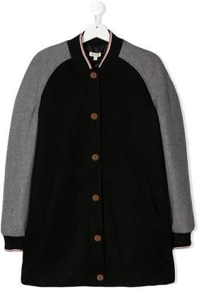 Kenzo TEEN long line bomber jacket