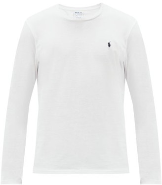 Polo Ralph Lauren Long Sleeved Cotton T Shirt - Mens - White