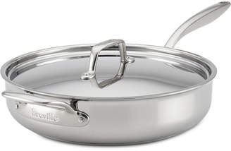 Breville Thermal Pro Clad Stainless Steel 5-Qt. Sauté Pan & Lid