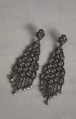 BCBGMAXAZRIA Stone Chandelier Earrings