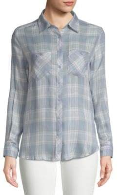 Ppla Markie Plaid Button-Down Shirt