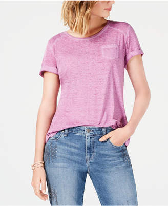 Style&Co. Style & Co Burnout T-Shirt