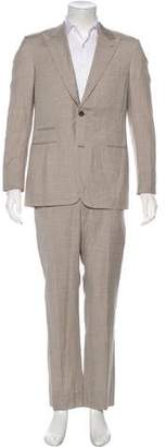 Hermes Plaid Wool & Linen Suit
