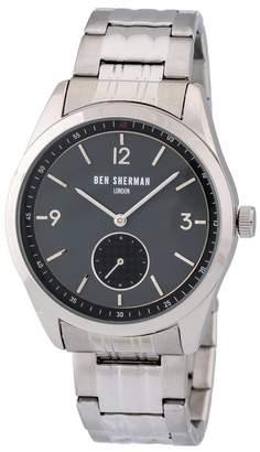 Ben Sherman Men's Carnaby Driver Bracelet Watch, 42.5mm