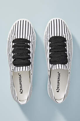 Superga Striped Platform Sneakers
