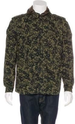 Acne Studios Camo Print Field Jacket