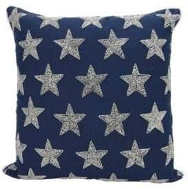 Nourison Beaded Star Down Pillow