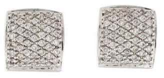Sonia Bitton 14K Diamond Pavé Huggie Earrings