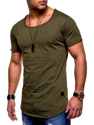 9546c7818eb3 MCieloLuna Men s Workout T-Shirt Polo Muscle Tee Sport Tops L