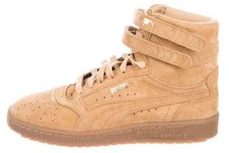 Puma Suede High-Top Sneakers