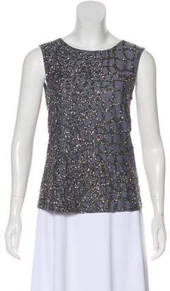 AllSaints Embellished Sleeveless Top