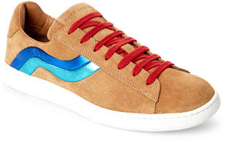 Marc Jacobs Brown Suede Lace-Up Sneakers