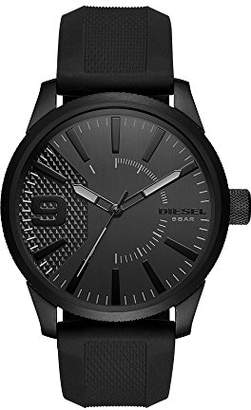 Diesel Men's DZ1807 Rasp IP Silicone Watch