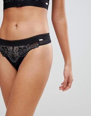 Gossard Black Lux Thong