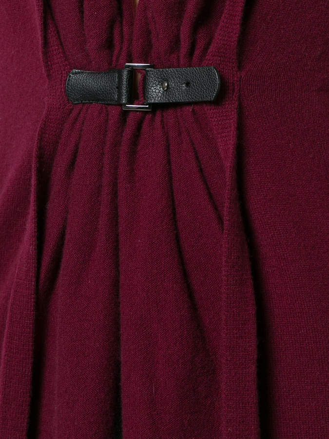 Sofia Cashmere buckled cardigan
