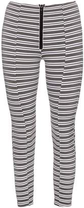 Lisa Marie Fernandez Hannah striped performance leggings