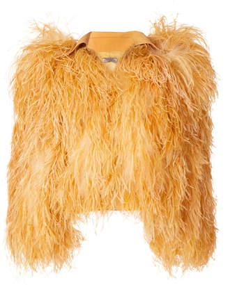 Nina Ricci structured shoulder jacket