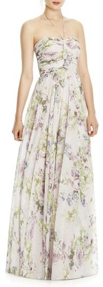 Women's Jy Jenny Yoo Chiffon A-Line Gown $230 thestylecure.com