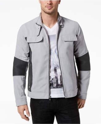 INC International Concepts I.N.C. Men's Asher Faux-Suede Jacket, Created for Macy's